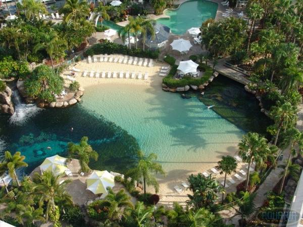 Fish Only Lagoon at Marriot Surfer's Paradise Australia
